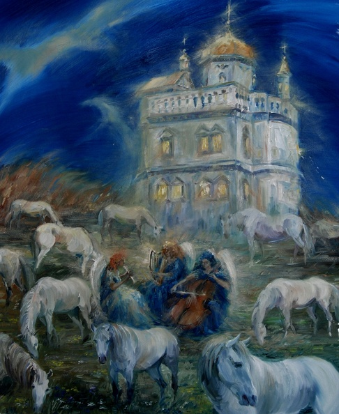 Available_Elena_Eros_New Jerusalem 28x18 Oil on canvas, Private Collection.JPG