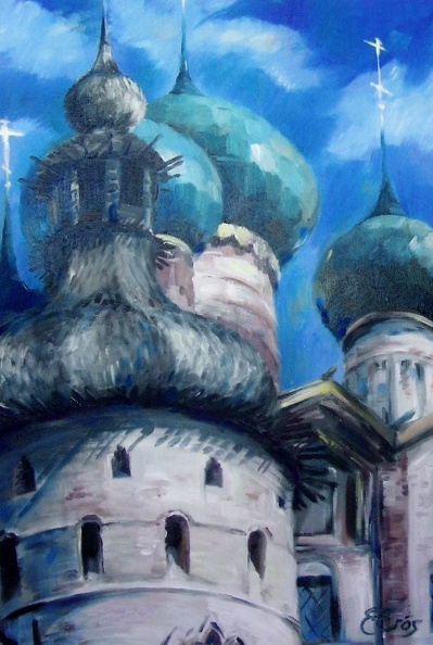 Available_Elena_Eros_Turquoise cupolas, 24x16, Oil on board.jpg