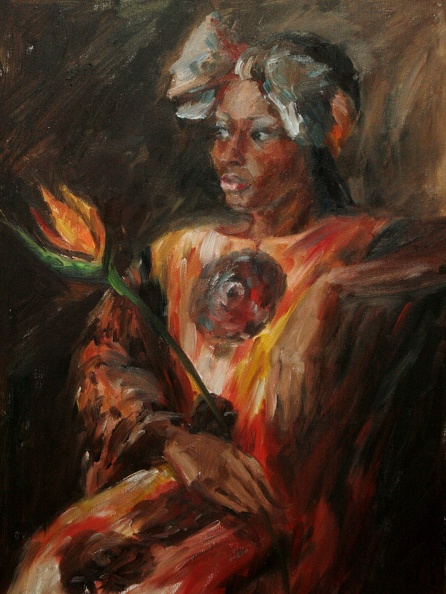 Available_Elena_Eros_A flower_Oil on canvas_$400.JPG